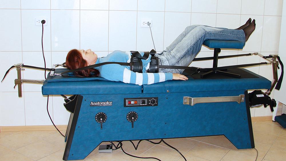Аппараты применяемые для лечения позвоночника